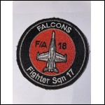 FALCONS F/A 18 Fighter sqn 17
