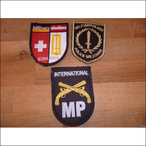 Militärpolizei Patches